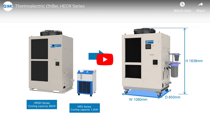 Dual Channel Thermoelectric Chiller, HRL Series