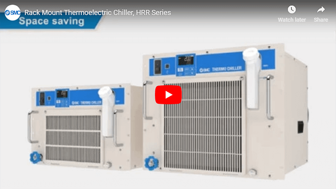 Rack Mounted Thermoelectric Chiller, HRR Series