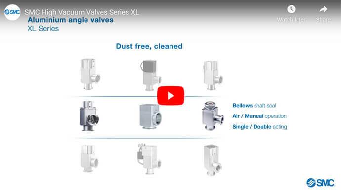 XL Series - High Vacuum Valves