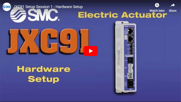 JXC91 Setup Videos