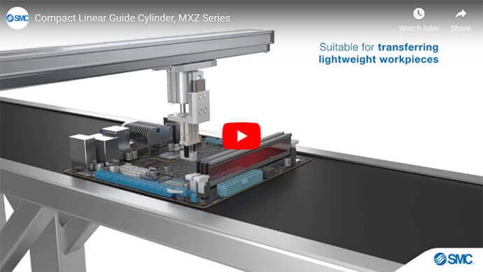 Compact Linear Guide Cylinder