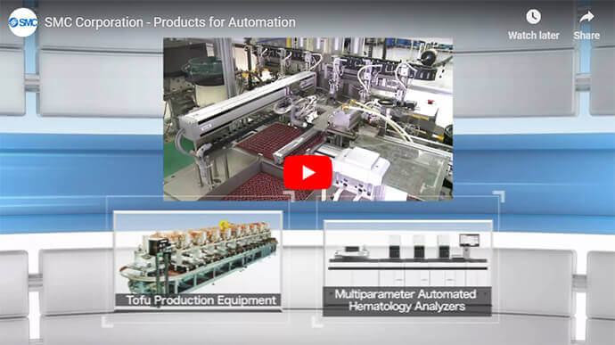 SMC Products for Automation
