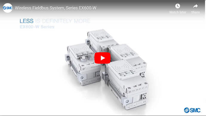 Wireless Fieldbus System, EX600-W Series