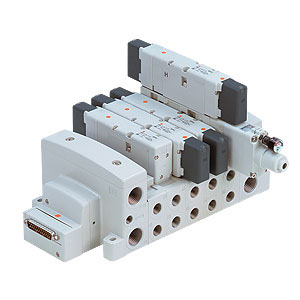VV80*-FD, Manifold, ISO 15407-2, D-sub Connector
