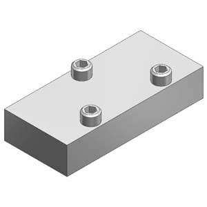 VVFS2000-10A, Krycí deska, pro VF(S/R)2000, montáž na základovou desku