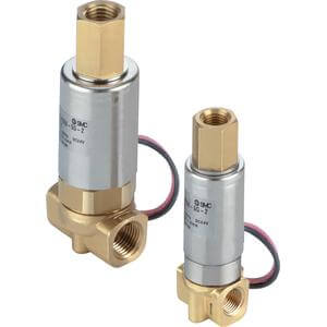 VDW200/300, 3 Port Solenoid Valve for Water & Air