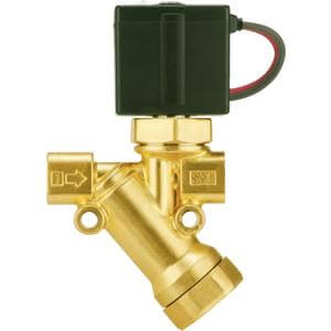 VXK, 2 Port Solenoid Valve with Built-in Y-Strainer