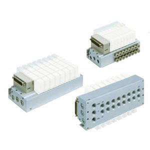 SS5Y7-50/51, Serie 7000, D-Sub-Stecker, Flachbandkabel, PC-Anschluss (IP40)