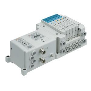 SS5Y3-10S, Serie 3000, Digitale Ausgangseinheit Series EX250, Anschlüsse seitlich