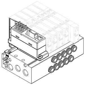 SS5Y7-50/51, Serie 7000, serielles Übermittlungssystem EX510 in Dezentraler-Ausführung (IP20)