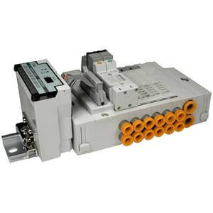 SS5X3-45S1*, 3000 Series, Stacking Manifold, Serial Interface Unit