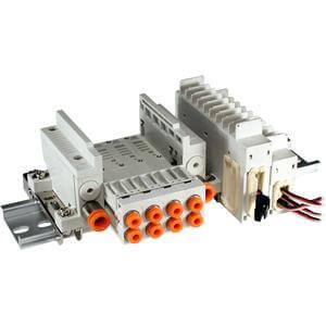 VV5Q05-T, řada 0000, Vícenásobná připojovací deska - individuální elektrické připojení, svorkovnice