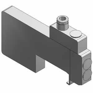 SSQ1000-R-4, Mezikus pro individuální odvzdušnění, pro SQ1000, individuální elektrické připojení