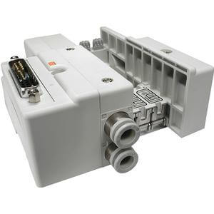 SS5Q13-F, řada 1000, Vícenásobná připojovací deska - interní prodrátování, D-sub konektor