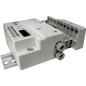 SS5Q13-S, řada 1000, Vícenásobná připojovací deska - interní prodrátování, sériové připojení