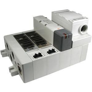 VV5Q51-T, 5000 Series, Base Mounted Manifold, Plug-in, Terminal Block