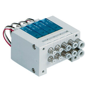 VV100-10, 3 Port Solenoid, Non Plug-in, Individual Wiring Manifold