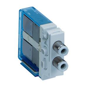 V100*N, Elektromagnetický přímo ovládaný 3/2 ventil, individuální elektrické připojení