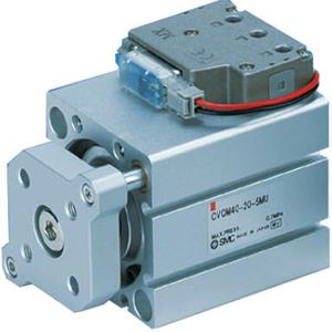 CVQM, Compact Cylinder with Solenoid Valve, Guide Rod Type