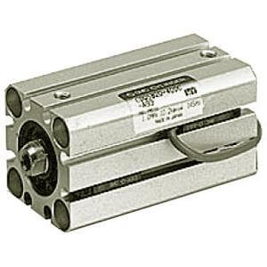 90/91-C(D)QS, Compact Cylinder, Double Acting, Single Rod, Anti-lateral Load