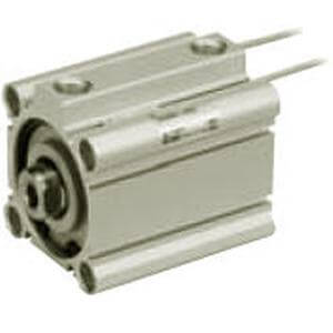 90/91-CDQ2, Compact Cylinder, Double Acting, Single Rod