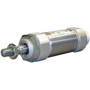 C(D)M2*Q, Cilindro neumático, Doble efecto, Vástago simple, Baja fricción