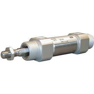C(D)M2K-Z, Air Cylinder, Non-rotating, Double Acting, Single Rod