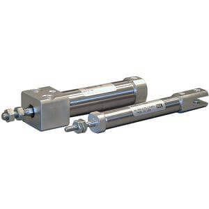 C(D)M2RK-Z, Air Cylinder, Non-rotating, Double Acting, Single Rod, Direct Mount