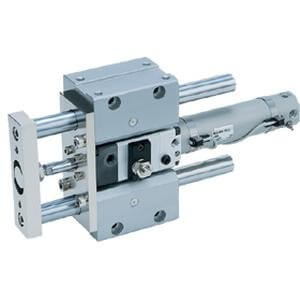 MLGC, Compact External Guide Cylinder with Fine Lock