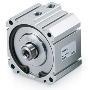 JC(D)Q, Compact Cylinder, Double Acting Single Rod