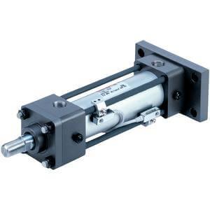 CH(D)2, JIS Hydraulikzylinder, doppeltwirkend, Standard-Kolbenstange