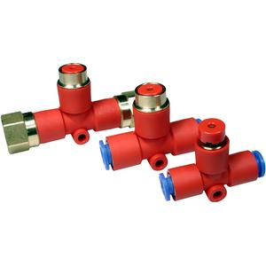 KE, Residual Pressure Relief Valve, One-touch Fitting
