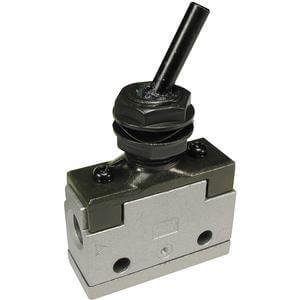 VM100, Řada 100, Mechanicky / ručně ovládaný 2/2 a 3/2 ventil