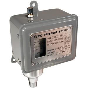 ISG Mechanical Pressure Switch, AC/DC, IP44 Dripproof