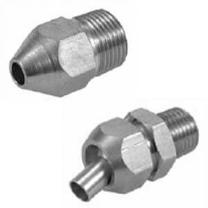 KN, With Male Thread/Swinging Nozzle