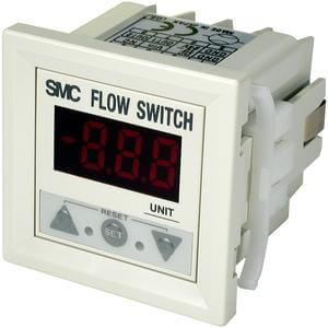 PF2D3, Digital Flow Monitor, 1-Color Display, IP40, for PF2D5 Sensors