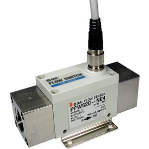PF2W5**T, Digital Flow Switch for Hot Water, Remote Type Sensor