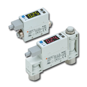 90-PFM7, 2-Color Display, Digital Flow Switch, Integrated Display