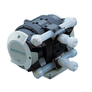 PAF5000-S, Process Pump: Automatically Operated Type, Air Operated Type, With Nut