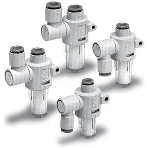 ZFB, Air Suction Filter w/One-touch Fittings