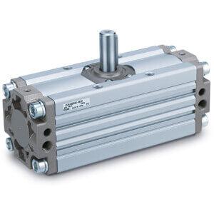 C(D)RA1-Z*30 až 100, Kyvný pohon s pastorkem a hřebenem, standardní provedení