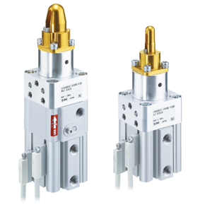 C(L)KQG*32, Pin Clamp Cylinder, Built-in Standard Magnet, Compact Type