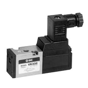 VK332, Elektromagnetický přímo ovládaný 3/2 ventil, se závity v tělese