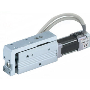 LEPS, Electric Actuator Miniature Slide Table Type, Step Motor (Servo/24VDC)
