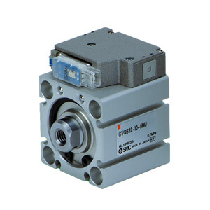 CVQ, Compact Cylinder with Solenoid Valve