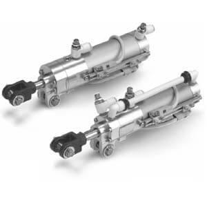 CLKG/P-X2095, Klemmzylinder mit Verriegelung, Schmale Ausführung