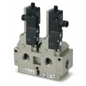 VG342-X87, Redundant aufgebautes Entlüftungsventil, 3/2-Wege-Elektromagnetventil, ISO13849-1