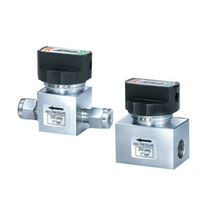 AK3652/AK4652 Diaphragm Valves for General Applications, Manually Operated Type