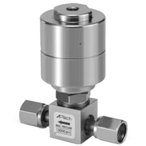 AP3200, Diaphragm Valve, Air Operated, Metal Seated
