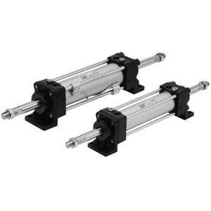CH(D)A, Tie-Rod Type Hydraulic Cylinder, Double Acting, Double Rod